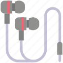 cable, device, electronic, headphone, headset, plugs icon