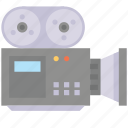 camera, device, electronic, media, multimedia, projector icon