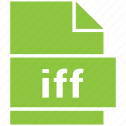 audio file format, file format, iff icon