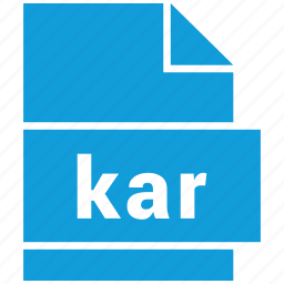 audio file format, file format, kar icon