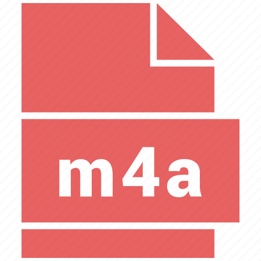 audio file format, file format, m4a icon