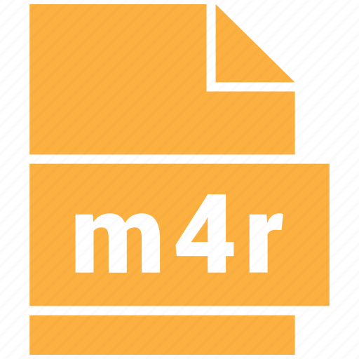 audio file format, file format, m4r icon