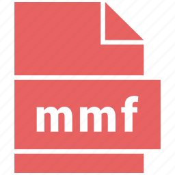 audio file format, file format, mmf icon