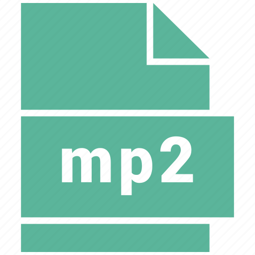 audio file format, file format, mp2 icon
