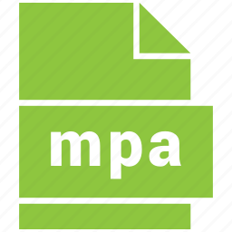 audio file format, file format, mpa icon