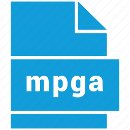 audio file format, file format, mpga icon