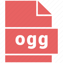 audio file formats, file format, ogg icon