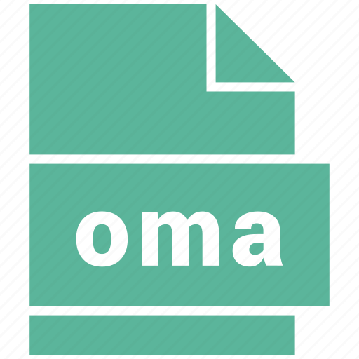 audio file format, file format, oma icon