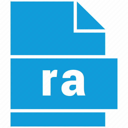 audio file format, file format, ra icon
