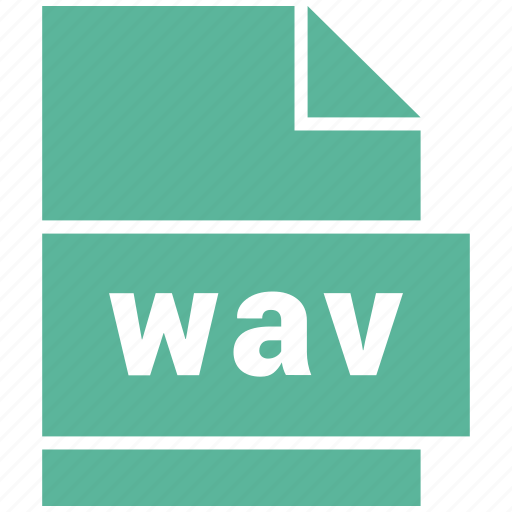 audio file format, file format, wav icon