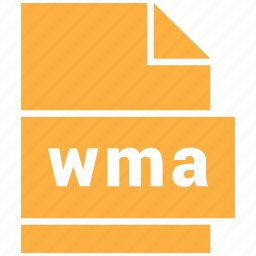 audio file format, file format, wma icon