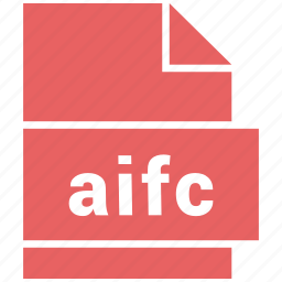 aifc, audio file format, file format icon