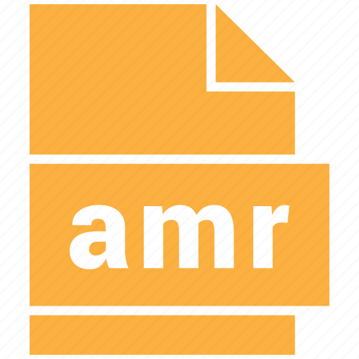 amr, audio file format, file format icon
