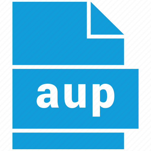 audio file format, aup, file format icon