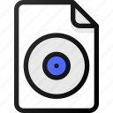 acd, file, sound, music, audio