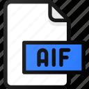 aif, file, sound, music, audio
