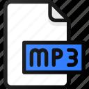 mp3, file, sound, music, audio