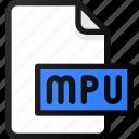 mpu, file, sound, music, audio