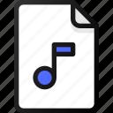 music, file, sound, audio