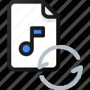 reload, music, file, sound, audio