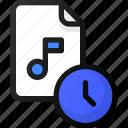 time, music, file, sound, audio