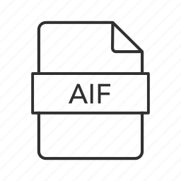 aif, aif file, aif icon, audio icon, audio interchange, audio interchange file, audio interchange file format icon