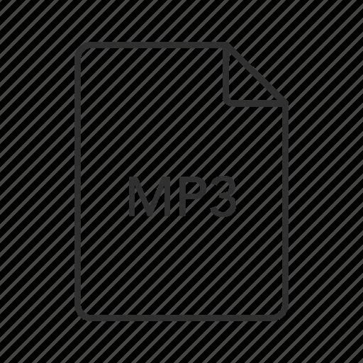 audio file, mp3, mp3 audio file, mp3 file, mp3 icon, music file, music icon icon