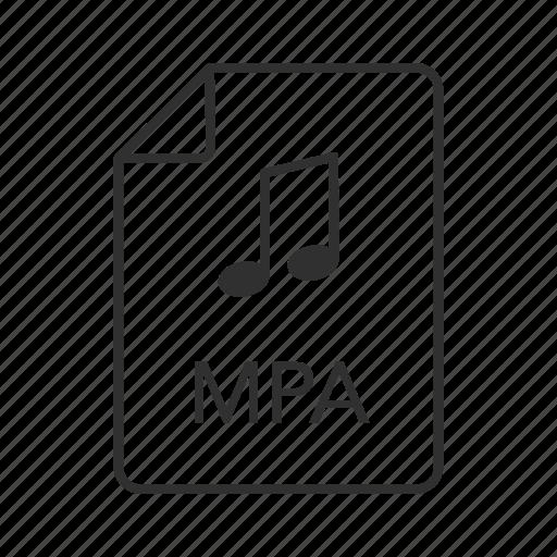 mpa file, mpa icon, mpeg-2, mpeg-2 audio, mpeg-2 audio file, music file, music icon icon