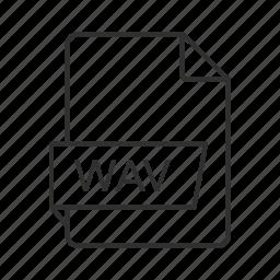 music icon, wav, wav file, wav icon, wave, wave audio, wave audio file icon