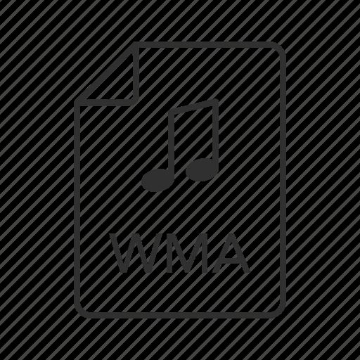 audio file, audio file icon, music file, music file icon, vma, vma file, vma icon icon