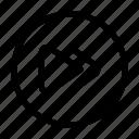 arrows, control, media, music, next, right icon