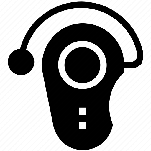 bluetooth, calling, headphone, headset, headset hook icon