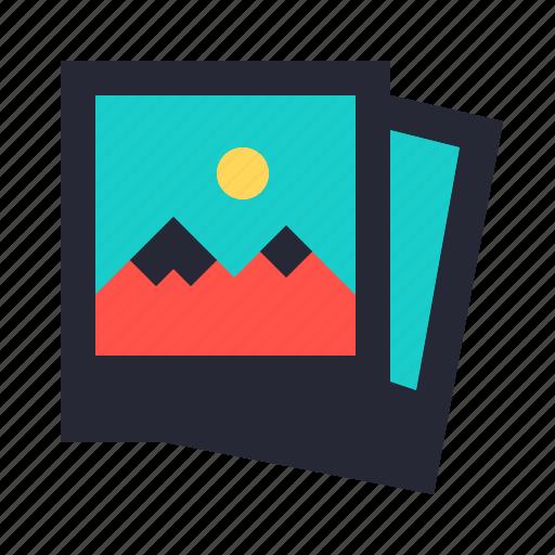 file, jpeg, photo, photography, photos, polaroid icon