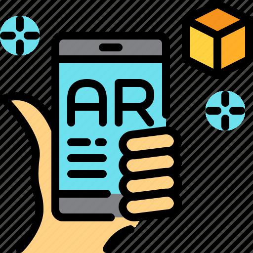 application, ar, augmented reality, innovation, virtual reality icon