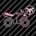 ar, augmented reality, motorbike, riding