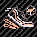 ar, game, running icon