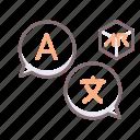 ar, translation icon