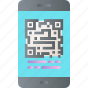 ar, augmented reality, code, innovation, qr, virtual reality icon