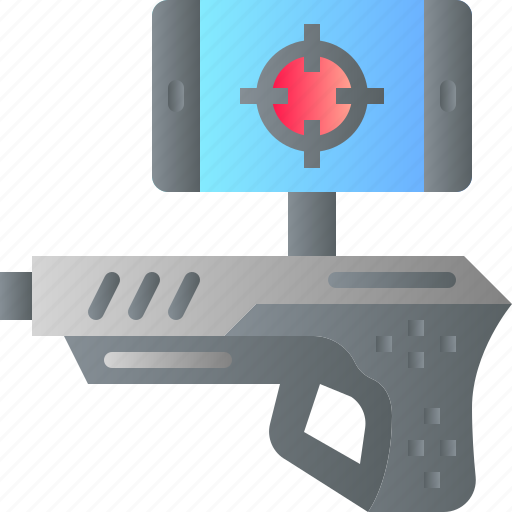 ar, augmented reality, game, innovation, shooting, virtual reality icon