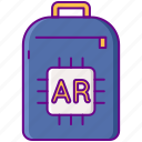 ar, augmented, backpack
