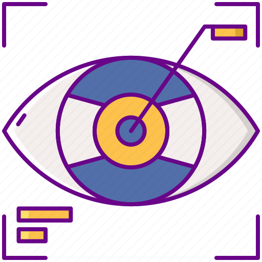 Ar, augmented, contact, lens icon - Download on Iconfinder