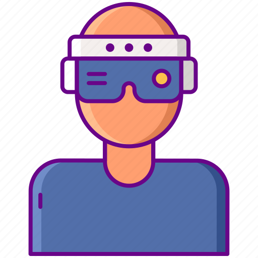 Ar, augmented, headset icon - Download on Iconfinder