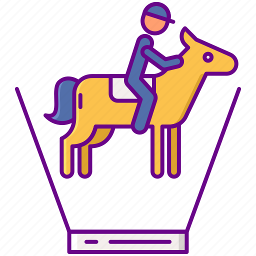 Ar, horse, riding icon - Download on Iconfinder