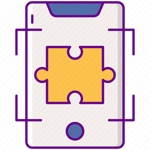 Ar, augmented, puzzle icon - Download on Iconfinder