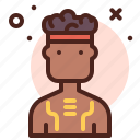 aborigen, ancient, indian, male
