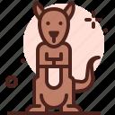 animal, face, kangaroo icon