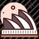 museum, opera, sydney, visit icon