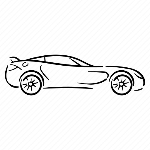 Auto, automobile, car, machine, speed icon - Download on Iconfinder