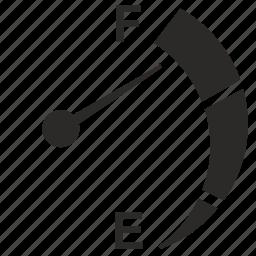 auto, car, display, fuel, meter icon