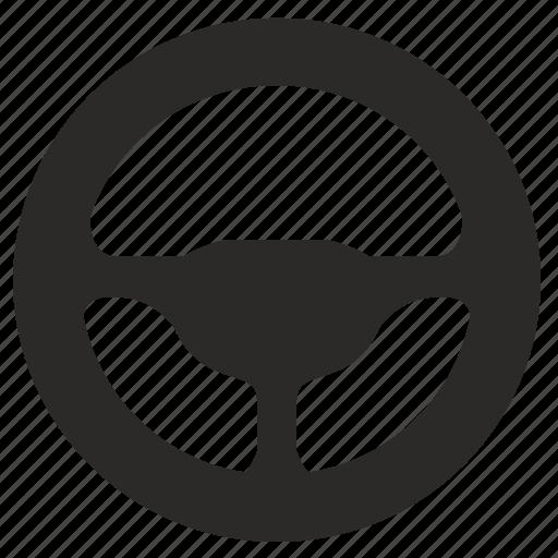 auto, car, control, wheel icon